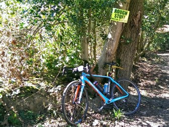 The Handsling CXC handled everything the Surrey Hills Gravelcross threw at it with ease