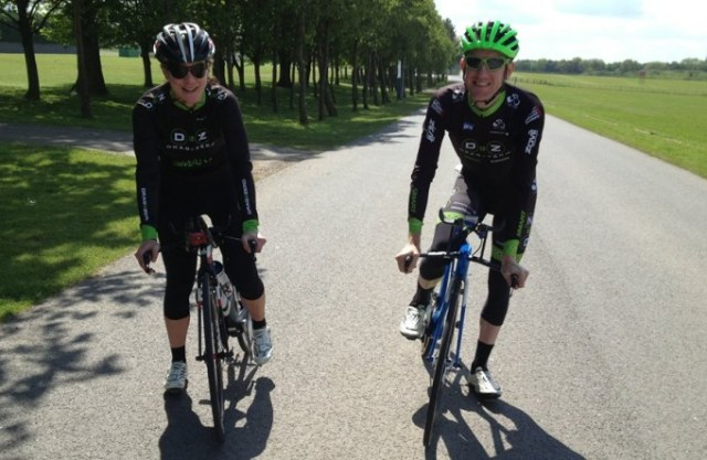 Matt Bottrill and Julia Shaw will be riding the Tour of Cambridgeshire with an eye on that very lucrative first prize and a spot in September's World Championships