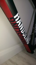 Fred Handsling Bikes RR1 downtube