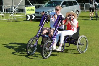 Charity Cyclists Fighting Cancer, supply bikes and trikes to help youngsters regain their physical fitness, strength and confidence