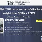 Insight into CELTA & CELT-S