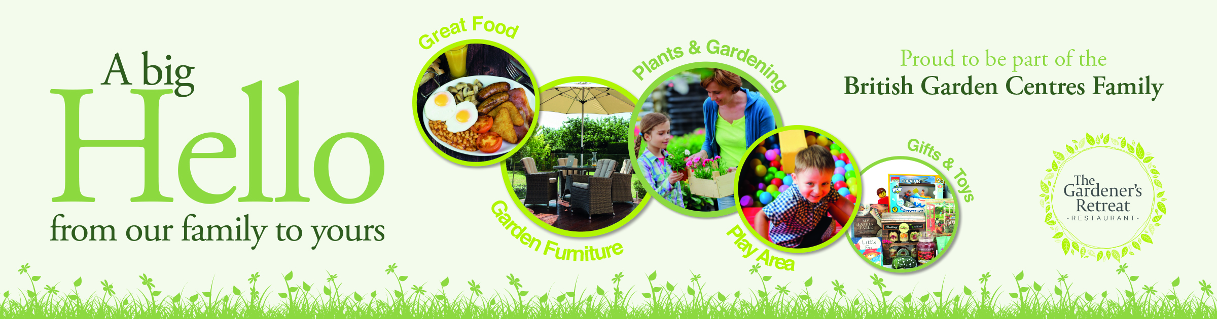 Leyland Garden Centre - soft play, restaurant, plants, gardening