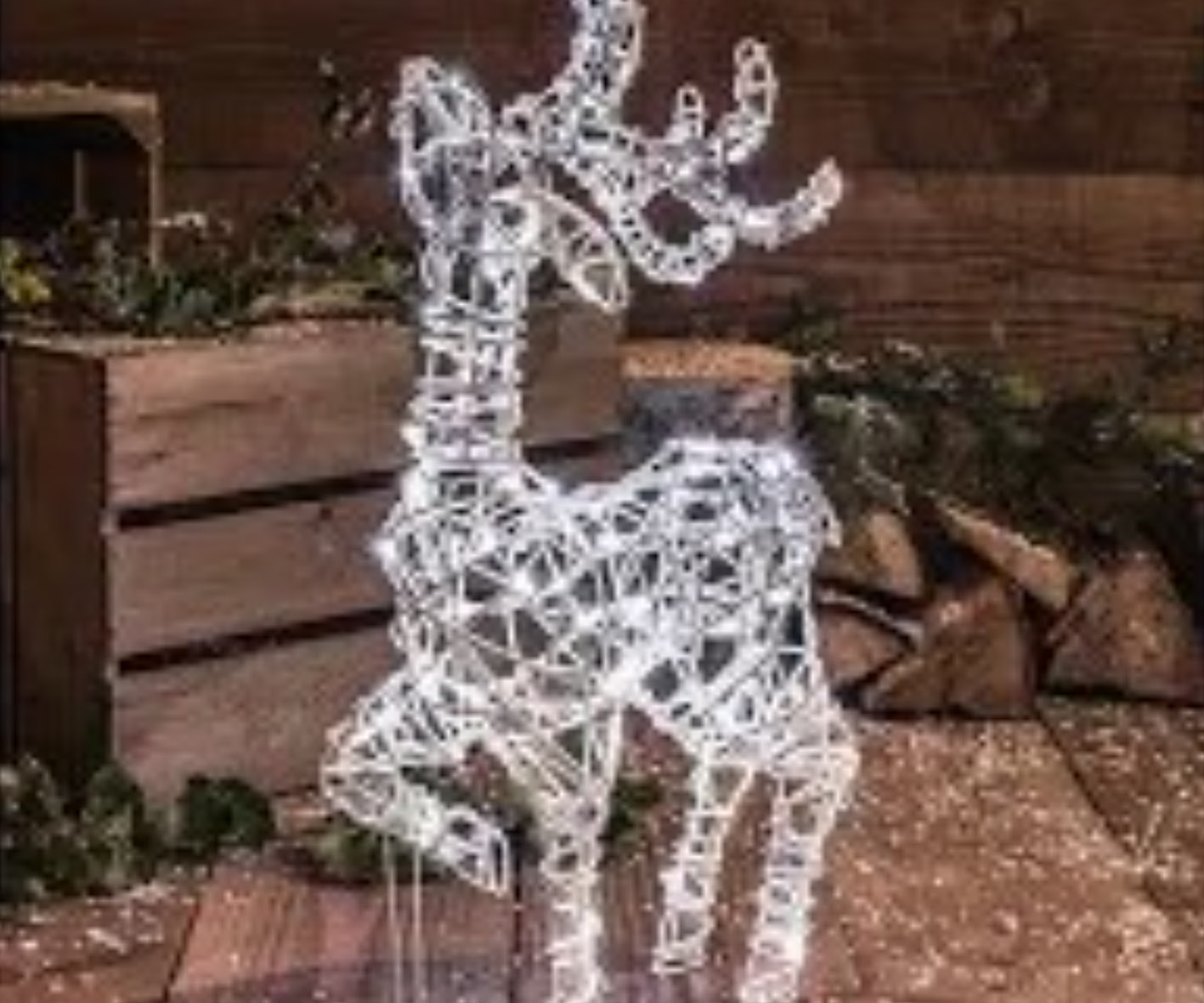 Light up Deer Christmas Decoration