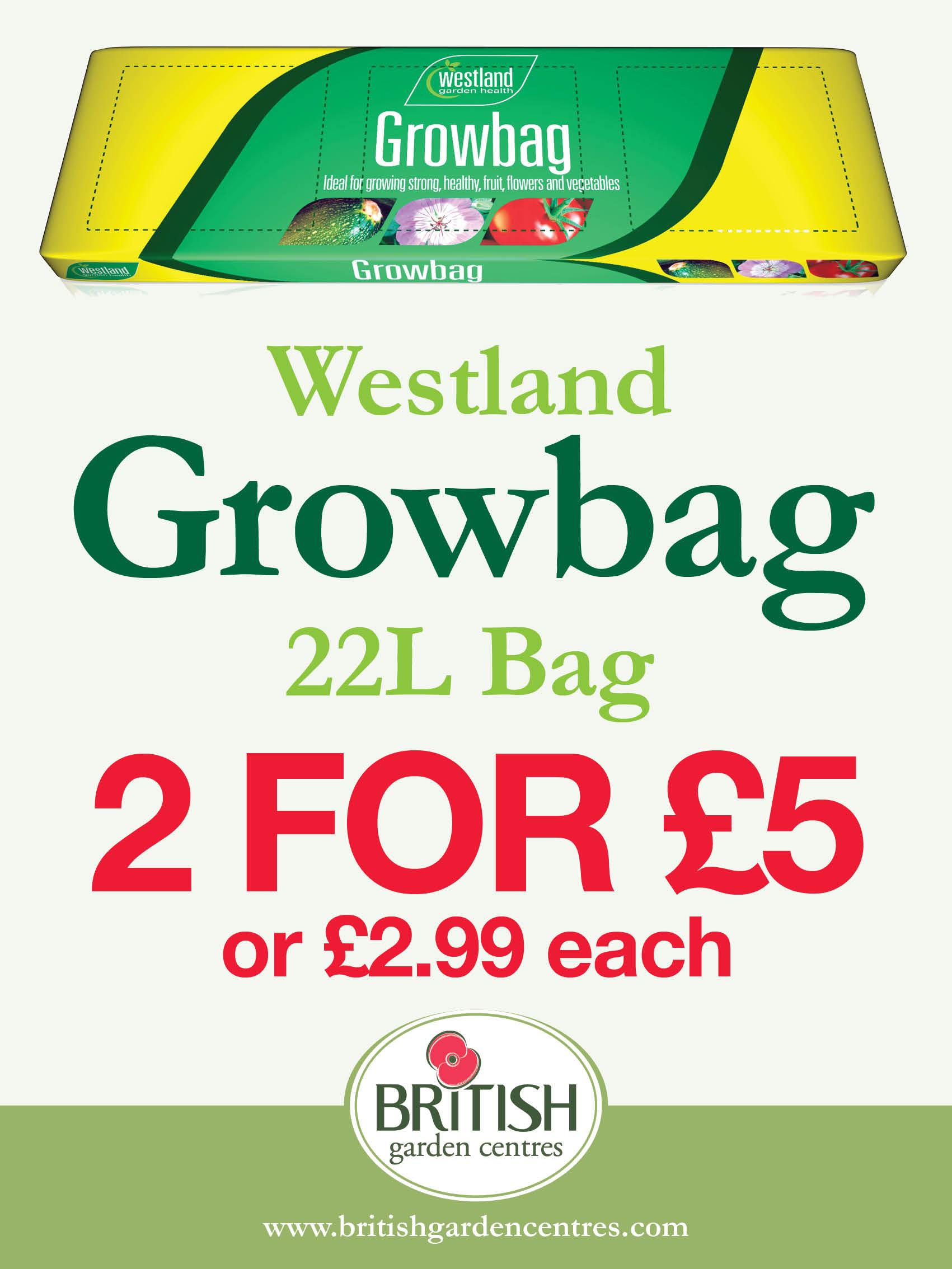 Westland Growbag 22L