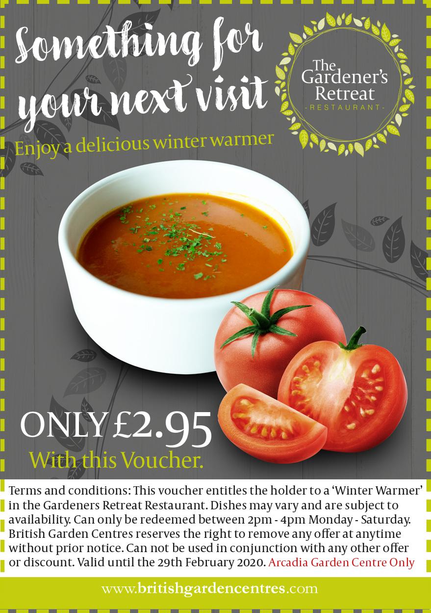 Winter Warmer Soup Voucher