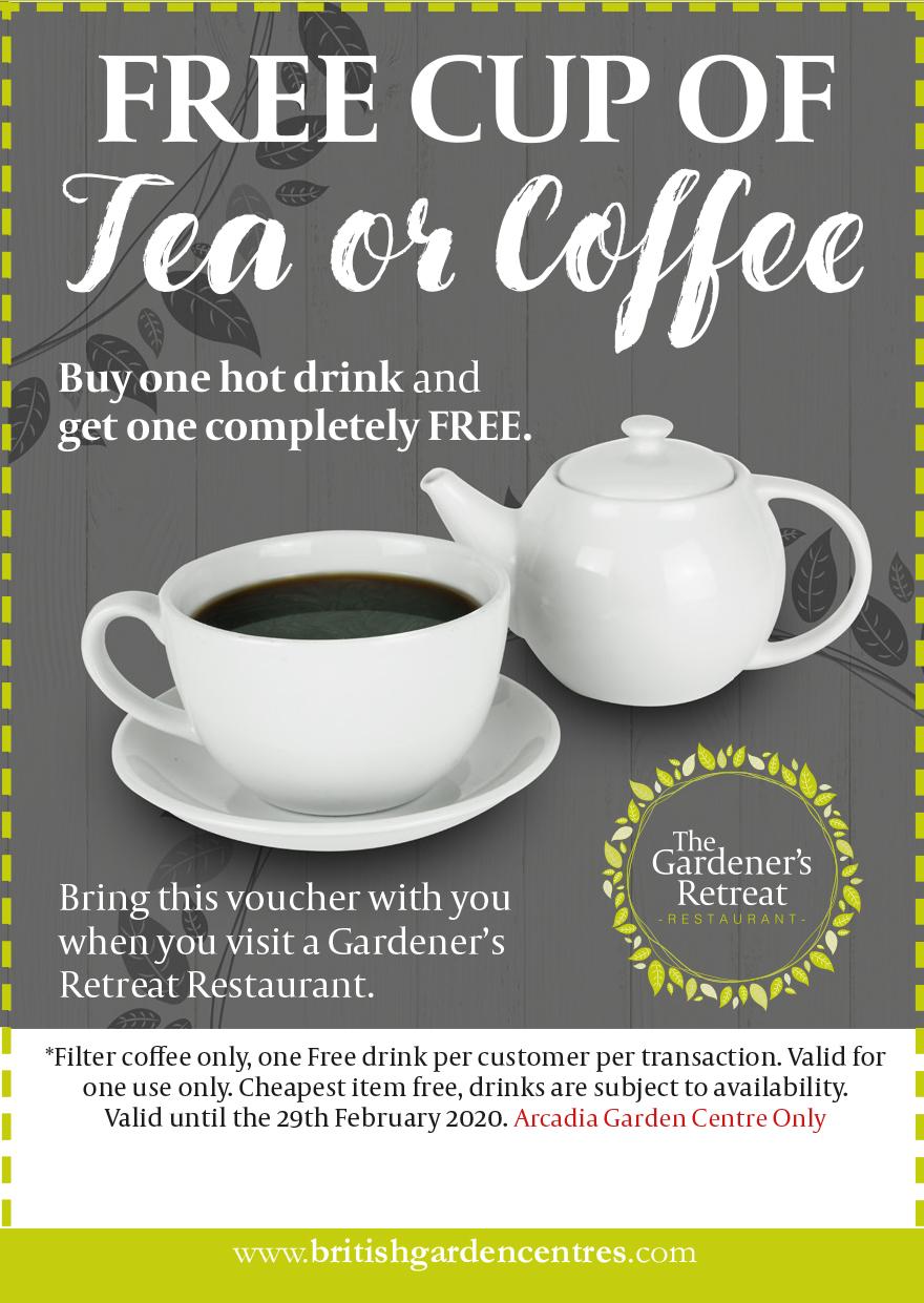 Winter Warmer FREE Tea or Coffee