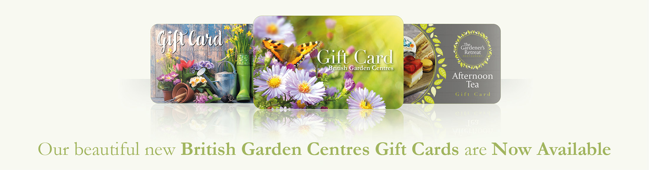 Gift Cards at Thatcham Garden Centre