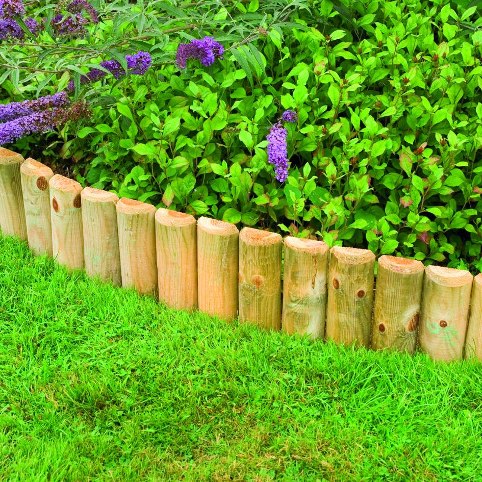 Wooden Edging Forest Gardens