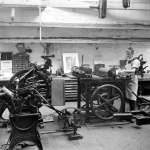 Printing Works (pictured in 1910) (from Kirklees Images)