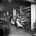 Linotype Machines, Fleet Street (from Heritage Explorer)