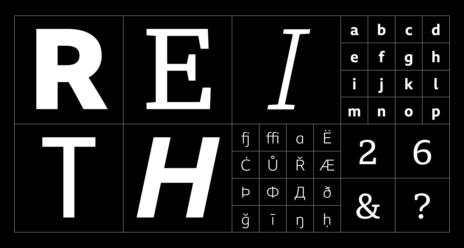 Creative Review: BBC Reith Font