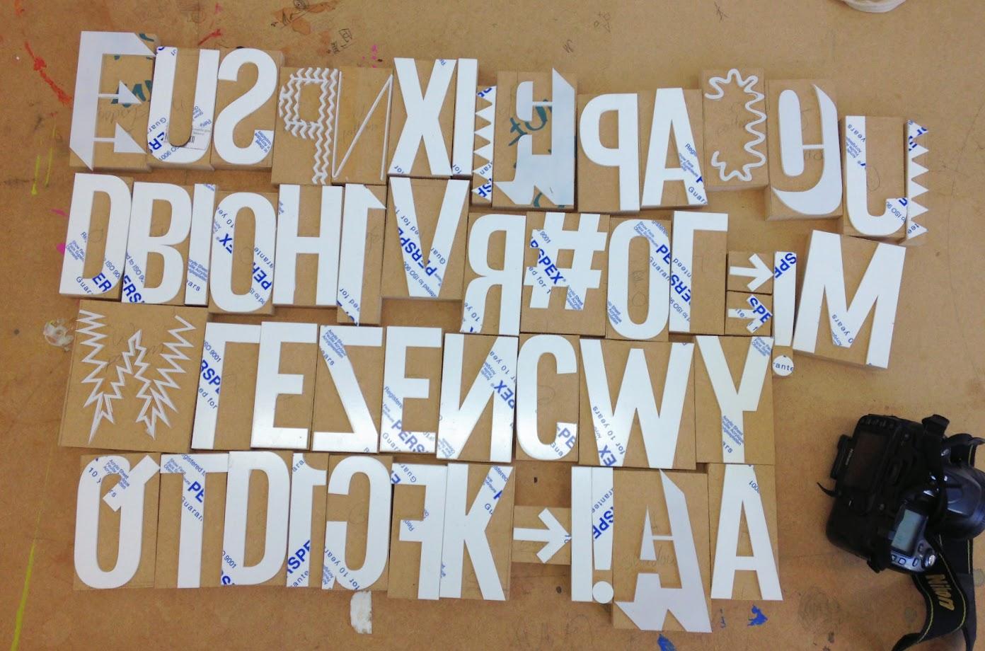 Adopting a Digital Typeface for Letterpress Printing