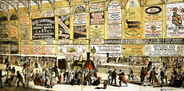 Alfred Concanen advertising
