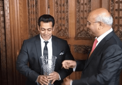 Salman Khan honoured at the House of Commons