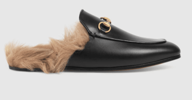 The furry Gucci shoes everyone's just gotta have
