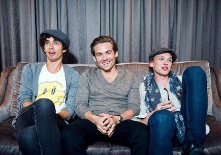 Robbie, Jamie & Kevin