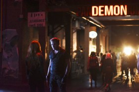 """SHADOWHUNTERS - """"The Mortal Cup"""" - One young woman realizes how dark the city can really be when she learns the truth about her past in the series premiere of """"Shadowhunters"""" on Tuesday, January 12th at 9:00 - 10:00 PM ET/PT. ABC Family is becoming Freeform in January 2016. Based on the bestselling young adult fantasy book series The Mortal Instruments by Cassandra Clare, """"Shadowhunters"""" follows Clary Fray, who finds out on her birthday that she is not who she thinks she is but rather comes from a long line of Shadowhunters - human-angel hybrids who hunt down demons. Now thrown into the world of demon hunting after her mother is kidnapped, Clary must rely on the mysterious Jace and his fellow Shadowhunters Isabelle and Alec to navigate this new dark world. With her best friend Simon in tow, Clary must now live among faeries, warlocks, vampires and werewolves to find answers that could help her find her mother. Nothing is as it seems, including her close family friend Luke who knows more than he is letting on, as well as the enigmatic warlock Magnus Bane who could hold the key to unlocking Clary's past. (ABC Family/John Medland) DOMINIC SHERWOOD"""