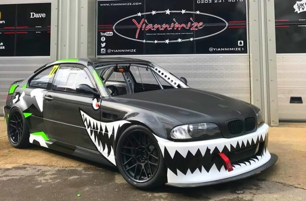 bmw e46 m3 wrap design