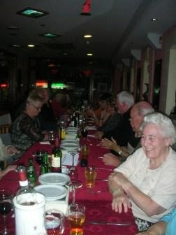 Group table at Master Wok