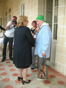 2015.5.18 - President of Malta, H.E. Marie Louise Coleiro-Preca with Margaret Peplow