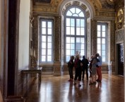 Group in the Palazzo Pamphili