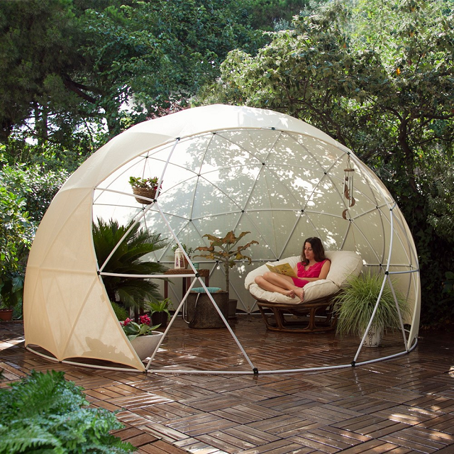 Garden igloo summer canopy
