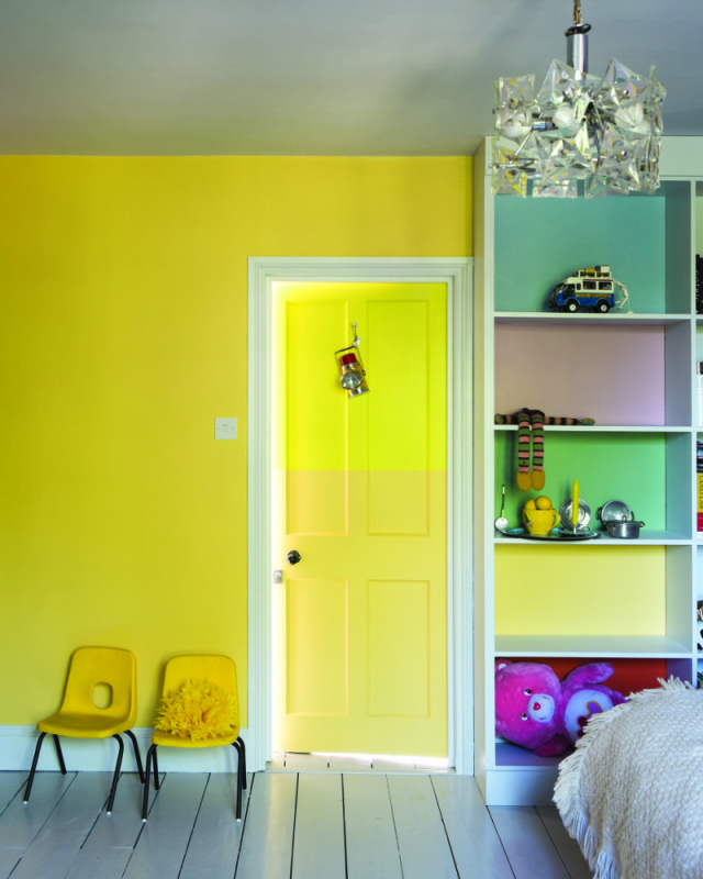 Yellow home accessories - let the sunshine in