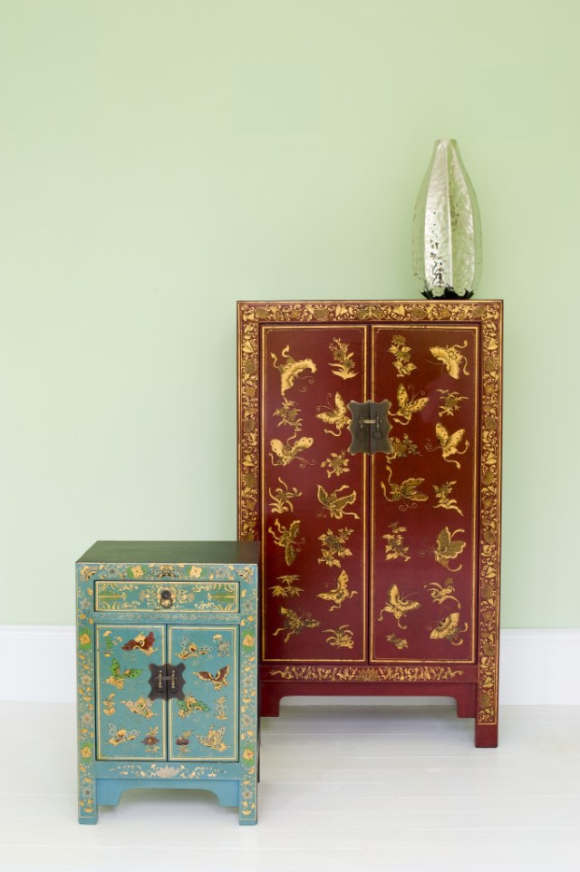modern chinese oriental cabinets