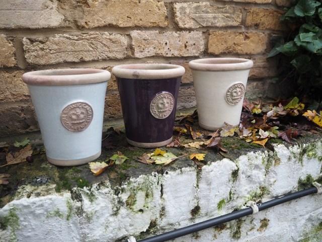 Kew royal garden pots