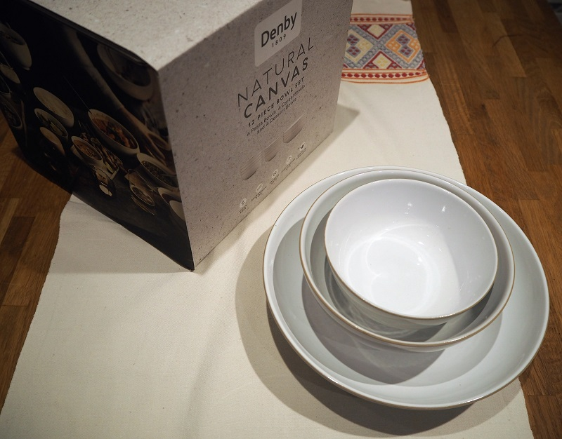 The new Denby natural canvas collection + recipe!
