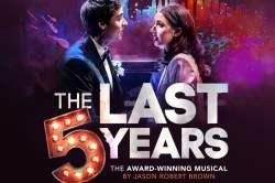La comédie musicale The Last 5 years preête pour la réouverture à Londres