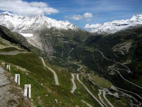 The Furka Pass