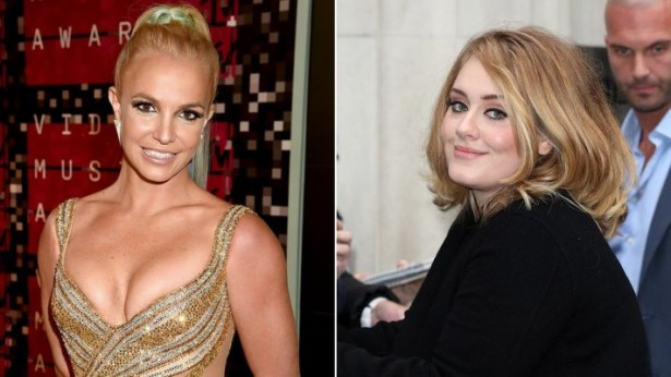 adele and britney
