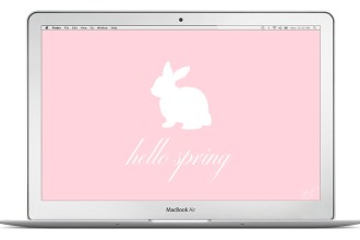 easter bunny spring desktop wallpaper background HD