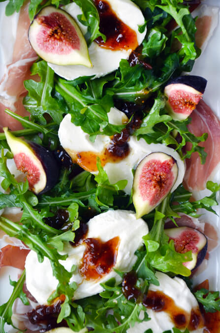 Fig, Burrata & Prosciutto Salad