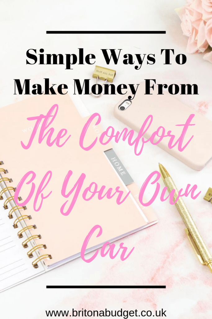 Simple ways to make money from the comfort of your own car