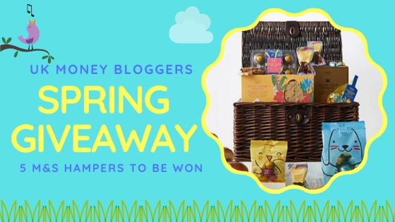 uk money bloggers spring giveaway