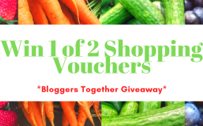 win 1 of 2 shopping vouchers