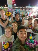 The traditional Thai celebration of Loy Krathong in Nakhon Chaisi, my Thailand home.
