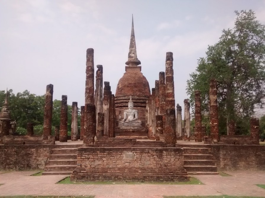 Wat Sa Si from the front