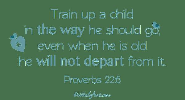 Proverbs 22.6