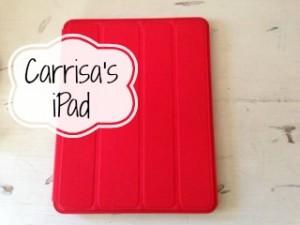 Carrisa iPad stack