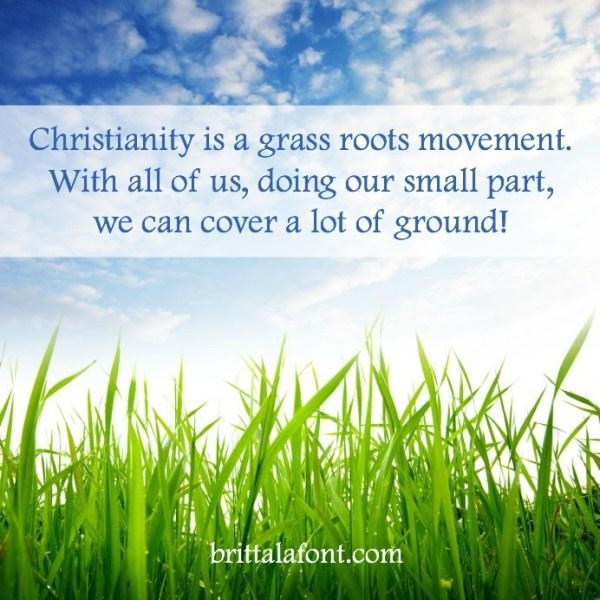brittalafont.com grass roots movement