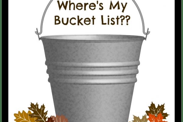 Where's My Bucket List?