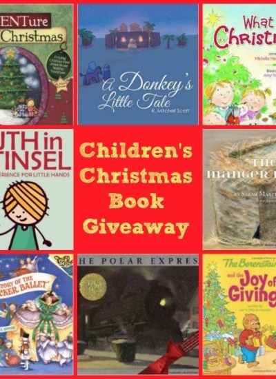 """Thanks Mom!""  A Kids' Christmas Book Giveaway"