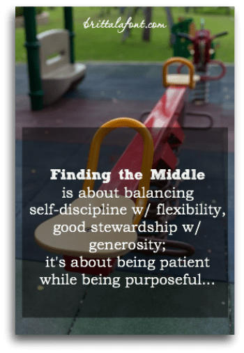 Finding the Middle