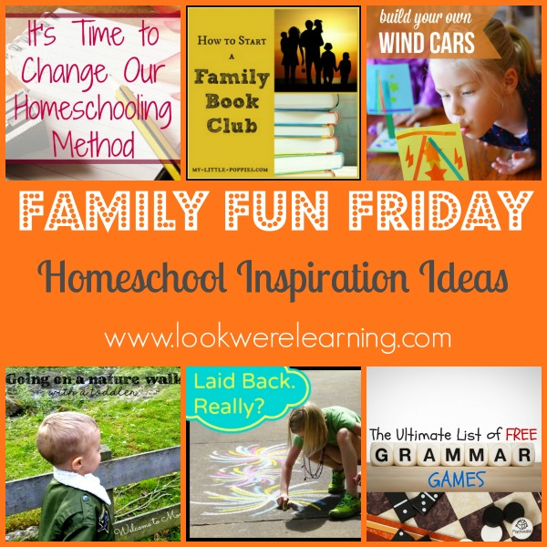 Homeschool Inspiration Ideas