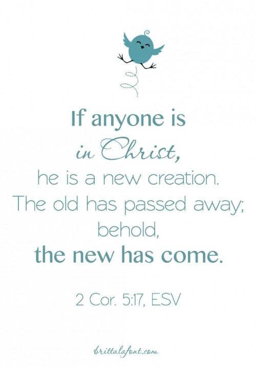 2 Cor 5.17