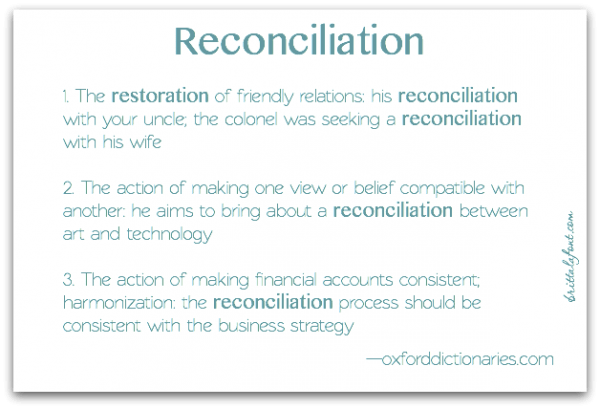 ReconciliationDefinition
