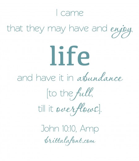 John 10.10 Amp